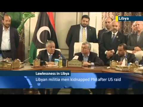 PM Ali Zeidan calls abduction an attempted coup as militias protest US capture of al-Qaeda leader