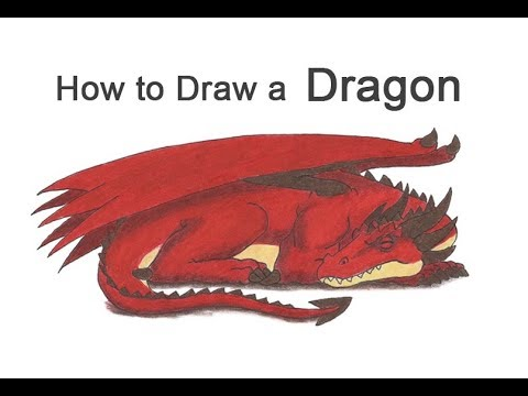 How to Draw a Dragon (Sleeping)