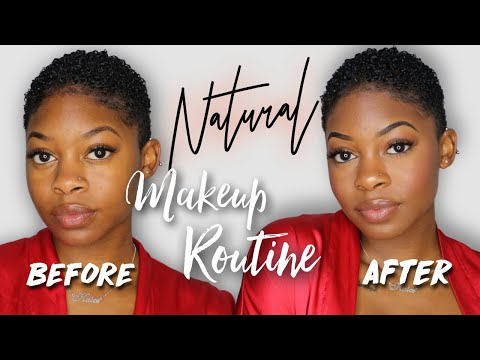 My Go-To Natural Everyday Makeup Routine 2018