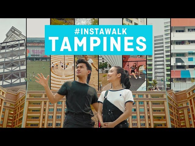 The Most Instagrammable Town In The East - Tampines #InstaWalk With MND Singapore