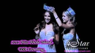 2012 Miss Rhode Island Teen USA/Miss Rhode Island USA Crowning Moment