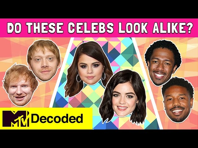 Do These Celebs Look Alike? | Decoded | MTV