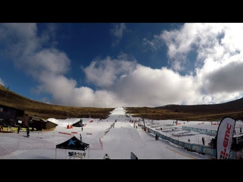 Africa's 'bucket list' ski resort dreams of Olympic racers