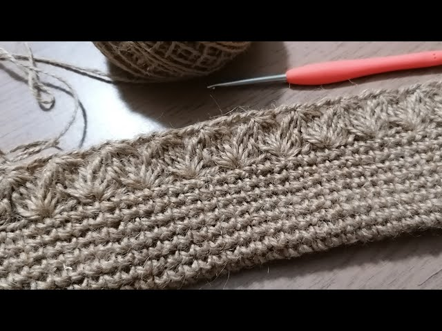 Jüt ?p ile Çanta Yap?m?, Part 1 &  Crochet bag