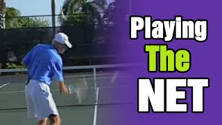 Tennis Lessons - Playing The Net Effectively by TomAveryTennis.com