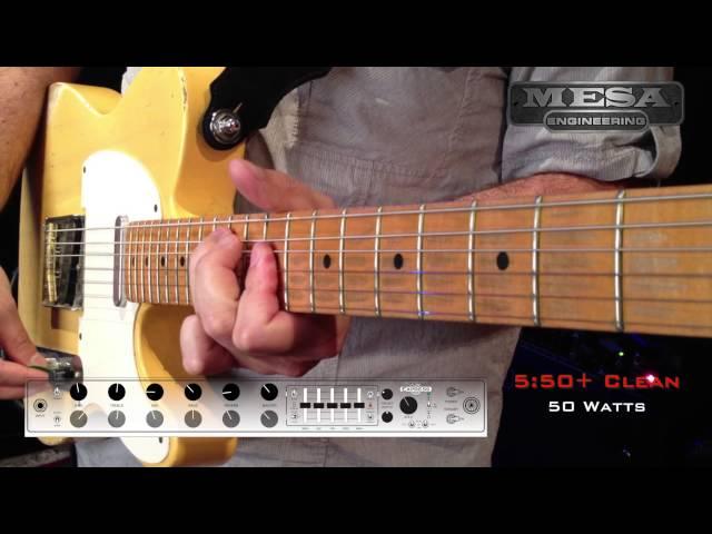 MESA/Boogie Express 5:50+ Ch. 1 CLEAN – Sparkling Tele