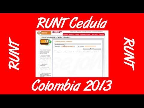 Como Consultar El RUNT Por Cedula Colombia
