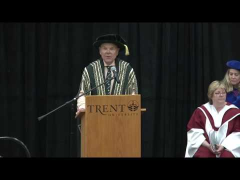 Convocation 2017 - Afternoon Ceremony: June 6, 2017 - Trent University Peterborough