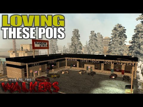LOVING THESE POIS | WotW MOD 7 Days to Die | Let's Play Gameplay Alpha 16 | S05E02
