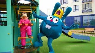 Смешарики новые серии на детской площадке Smeshariki 2016