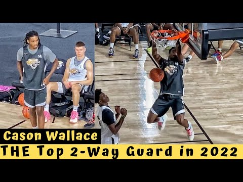 Was anyone more Dominant in July than Cason Wallace?