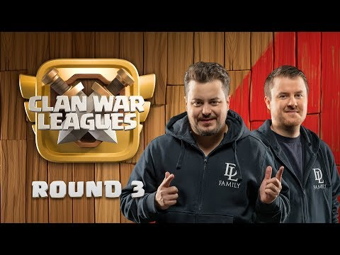 Clash Of Clans UPDATE - Clan War Leagues - 3 Star Attacks - Round 3