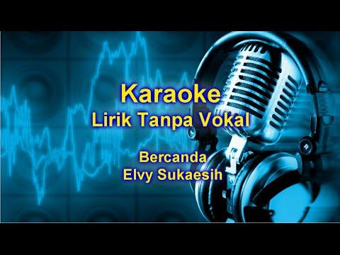 bercanda | Karaoke Dangdut Version Keyboard + Lirik tanpa vokal