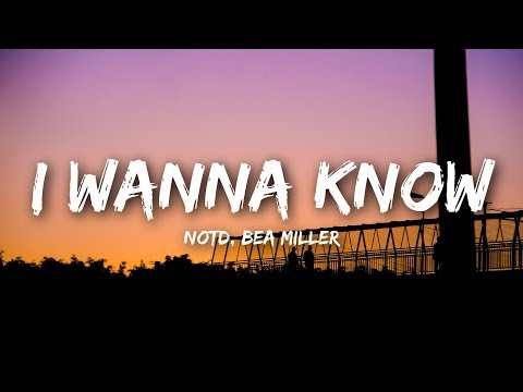 NOTD - I Wanna Know (Lyrics / Lyrics Video) Ft. Bea Miller