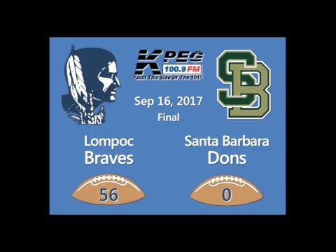 Lompoc vs Santa Barbara - Sep 15, 2017