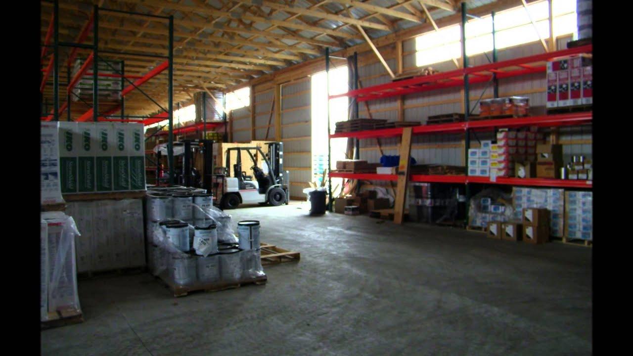 Usa pole barns commercial buildings youtube for Usa pole barns