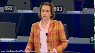 Beatrix von Storch (AfD):Bei der Terrorbekämpfung scheint die Datensicherheit der Bürger in Gefahr