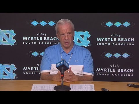 UNC Men's Basketball: Roy Williams pre-Louisville Press Conference