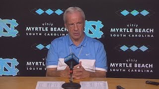 UNC Men's Basketball: Roy Williams pre-Louisville Press Conference
