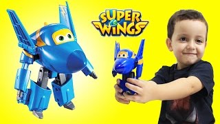 Jerome Super Wings Avião Change' Em Up que Transforma Fun ToysBR em Portugues 출동슈퍼윙스