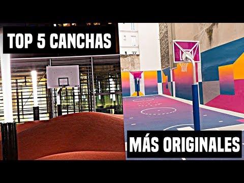 LAS 5 CANCHAS DE BALONCESTO MÁS ORIGINALES | El Rincón Del Triplista