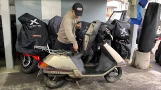ホンダ:スペイシー80参考動画:昔の未来スクーター(実働ですが現状販売