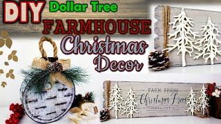 DOLLAR TREE DIY | FARMHOUSE CHRISTMAS DECOR  |  SLOTTED GALVANIZED ORNAMETS