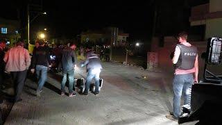 Midyat'ta Sokak Ortasında Silahlı Saldırı !