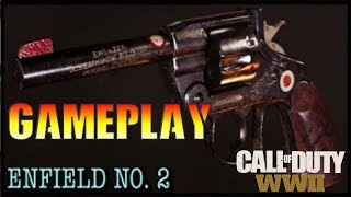 Lee Enfield No. 2 Call of Duty WW2 New Pistol Gameplay