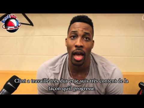 Interview Clint Capela - Houston Rockets - 9/3/2016