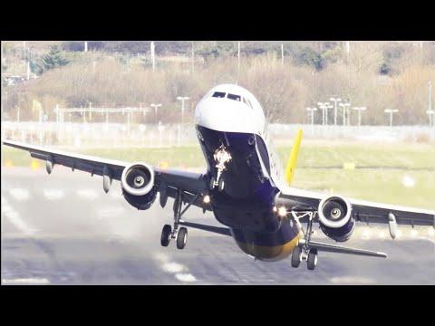 Crazy Pilots Airplane Horrible Vertical Takeoffs!!