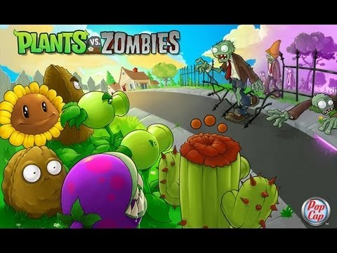 Samsung Galaxy W I8150 Playing  Plants Vs Zombie