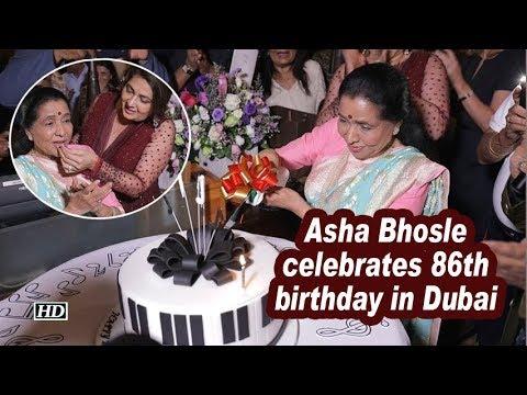 Asha Bhosle celebrates 86th birthday in Dubai Mp3