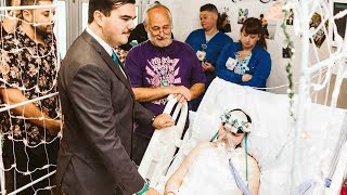 19-Year-Old Bride with Terminal Cancer Has Beautiful Wedding at Hospital