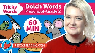 Tricky Words #1-7 | Dolch Words for Kids | Preschool to 2 Grade Sight Words