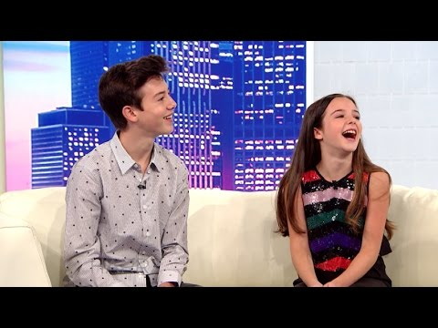 Griffin Gluck and Alexa Nisenson on new Middle School movie
