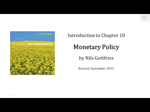 INTRO CHAPTER 10 Monetary Policy