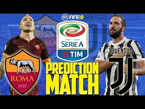 Prediction Match | Roma vs Juventus | Serie A 2017/18 | FIFA 18