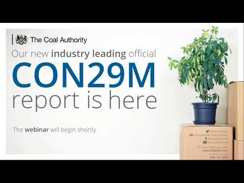 Webinar: The Coal Authority's Official CON29M Just Got Even Better