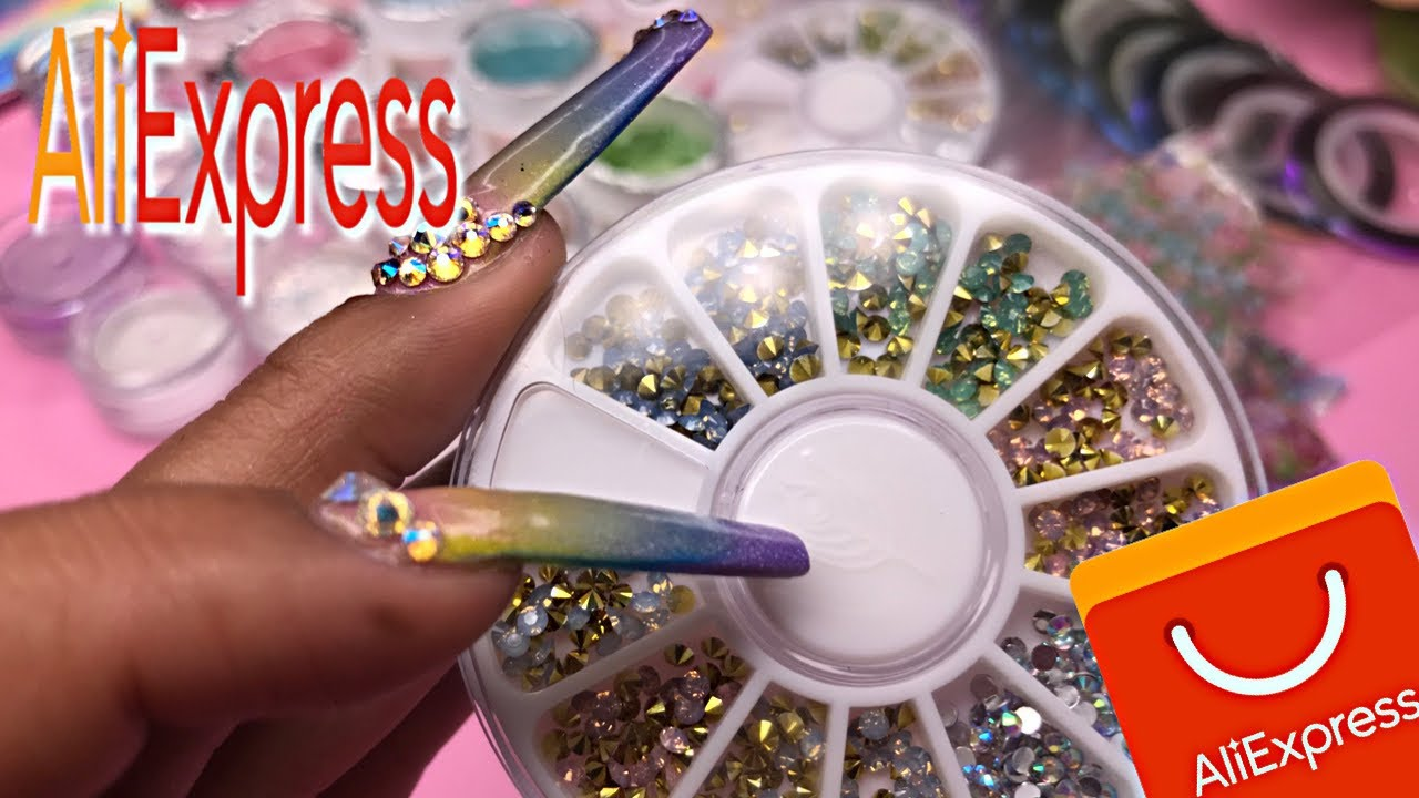 AliExpress nail art haul ~ spring 2020 nail products ~ and GIVEAWAY!