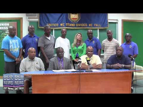 BIU Sign New Portworkers Collective Bargaining Agreement, June 18 2014