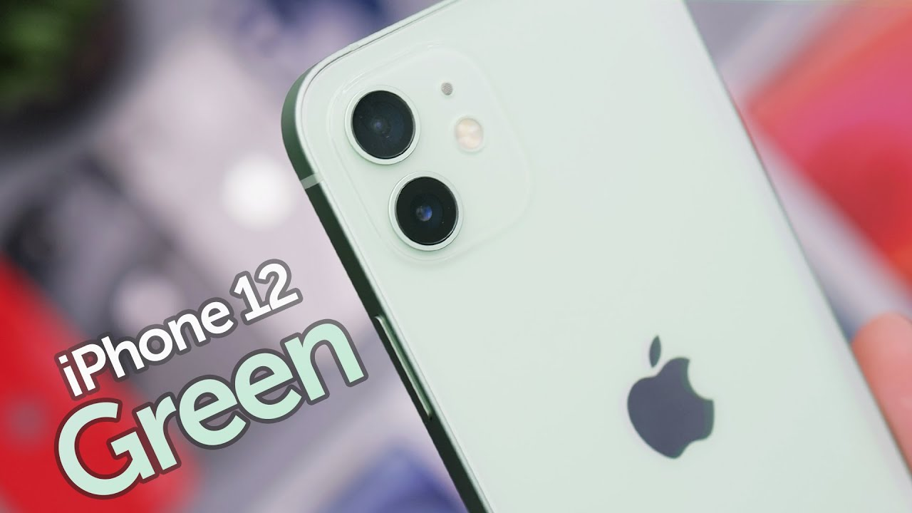 Green iPhone 12 Unboxing & First Impressions! - YouTube