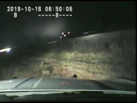 Rick Woodell - Police save driver on the tracks with only SECONDS to spare!