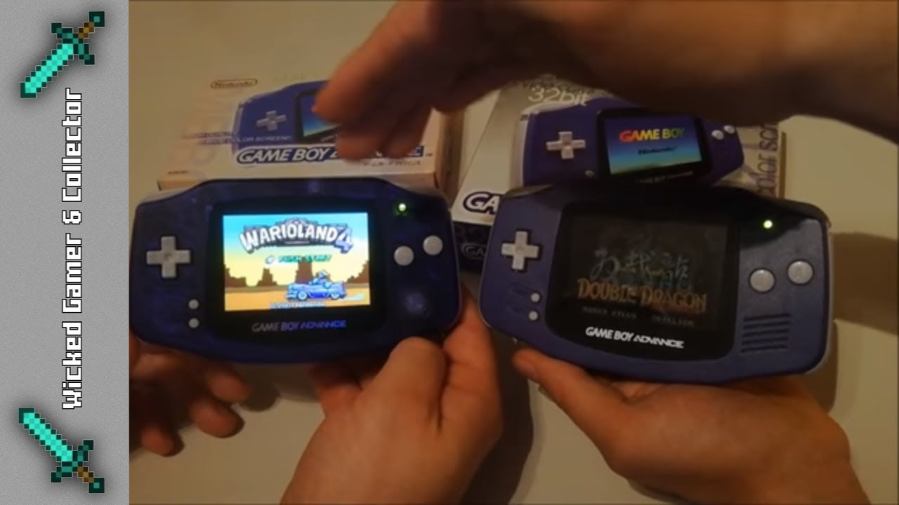 Gameboy color kijiji -  Nintendo Gameboy Advance Clone Fake Handheld Game Boy Compare Ags 101 Lcd Screen Gba Mod