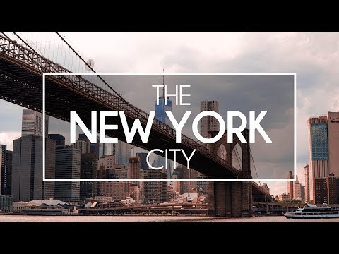 NEW YORK CITY | TRAVEL VIDEO | 2017 | 4K