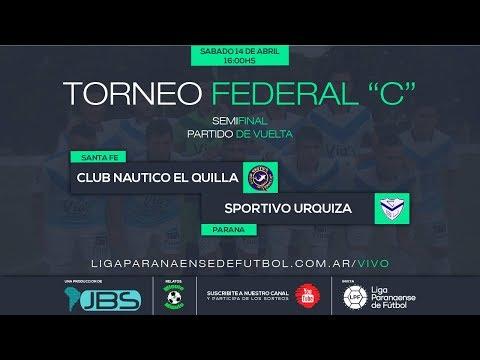 El Quilla (Santa Fe) 2 ( 2 ) vs Sportivo Urquiza (Parana) 2 ( 4 )