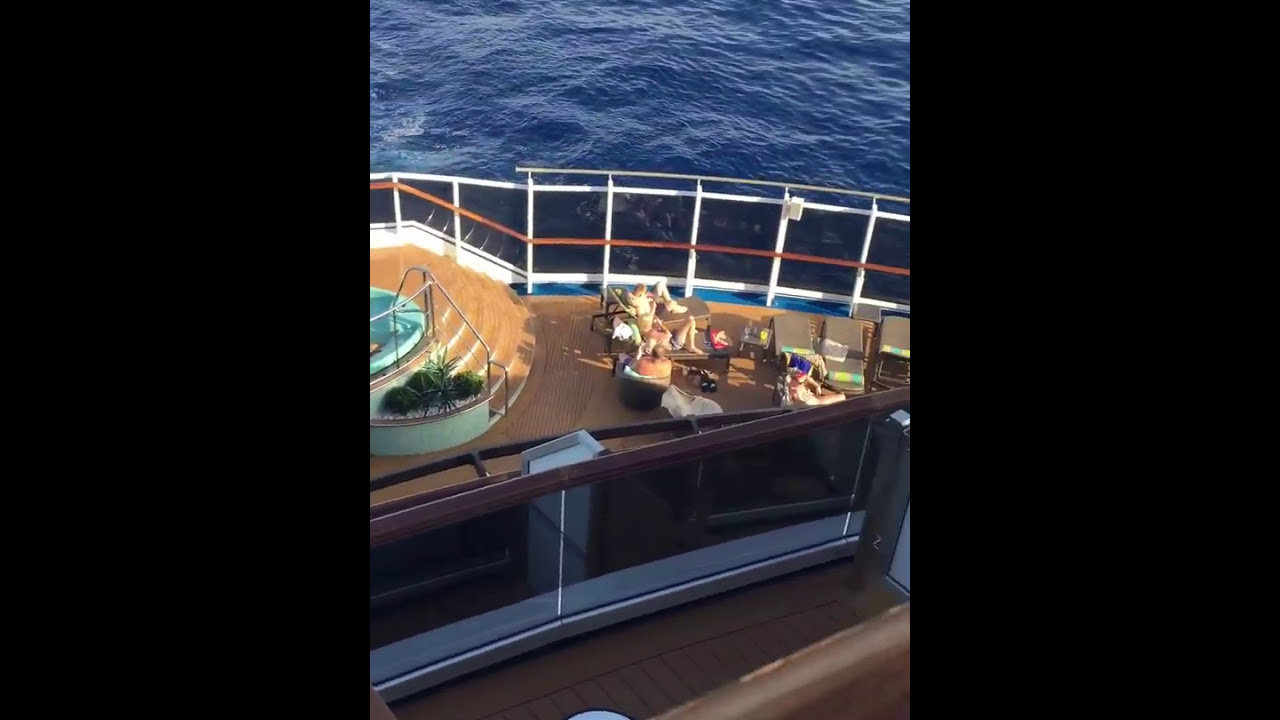 Carnival Vista Aft View Balcony 8474 Youtube