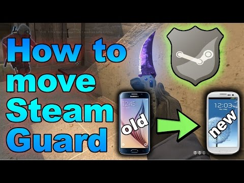 CS:GO - How to move Steam Guard to a New Phone (No 15 day Cooldown!)