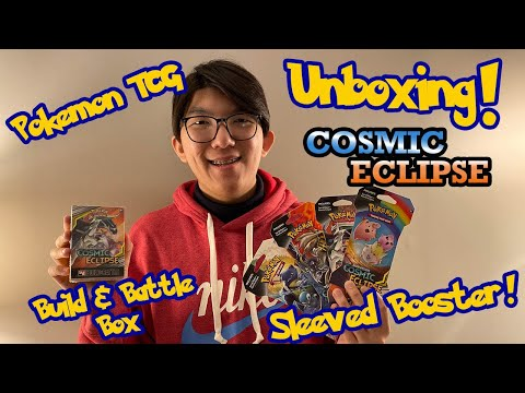 Lucky Number 8! Unboxing 8 Pack Cosmic Eclipse - Pokemon TCG