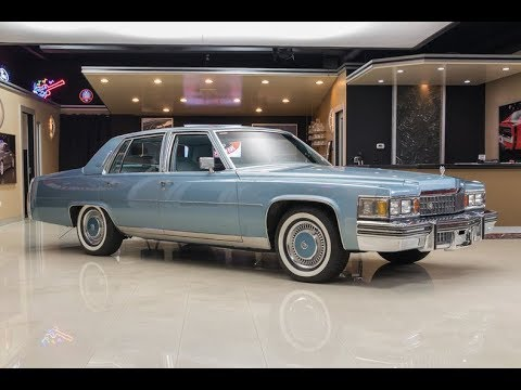 1978 Cadillac Fleetwood For Sale - YouTube